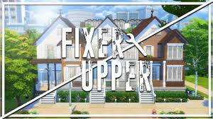 abandoned town houses the sims 4 fixer upper home renovation