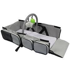ecdb001 folded baby travel bassinet bed change station infant