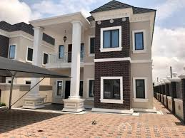 five bedroom house for rent brand five bedroom fully detached house lekki right