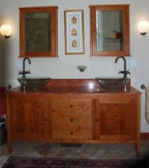 Mission Vanity Shaker Bathroom Vanities With Double Sinks