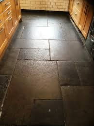 restoring flagstones damaged by strong cleaning products stone