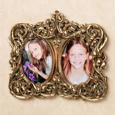 phoebe double photo frame wall accent