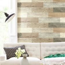 distressed wood plank peel and stick wall decals roommates