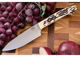bark river kitchen knives bark river knives petty z cpm 154 antique stag bone