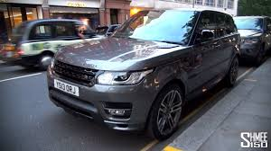 black and gold range rover overfinch range rover sport one of the first in london youtube