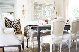 Dining Room Table Runners How To Make A Leopard Table Runner By Randi Garrett Design