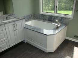 nice recommended bathroom vanity height with marble on top for