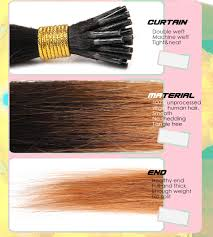 Itip Hair Extensions Wholesale by Wholesale 1b 30 100 Human Hair 8 30 Inch I Tip Straight Remy