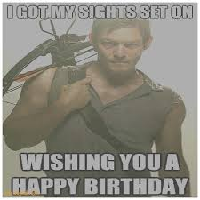 birthday cards awesome the walking dead happy birthday card