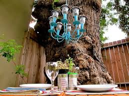 Solar Lights For Backyard How To Make A Solar Light Chandelier Homejelly