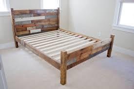 Aluminum Bed Frame The Best Unique Rustic Platform Bed Frame King With Cool Design