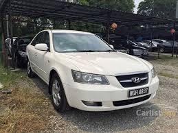 2007 hyundai sonata weight hyundai sonata 2007 nf 2 4 in selangor automatic sedan white for