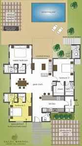 villa playa floor plan villas marina cabarete d r