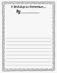 birthday writing paper how to write a victorian birthday letter