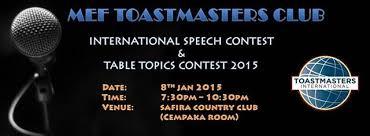 Table Topics Toastmasters Mef Toastmasters Club International Speech And Table Topics