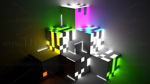 light projection mapping
