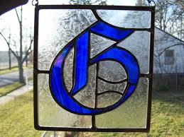 61 best stained glass letters images on pinterest stained