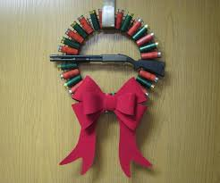 shotgun shell wreath 5 steps with pictures