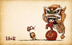 lion dancer book illustration wallpaper lion illustration wallpaper