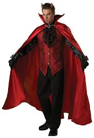 Quality Halloween Costumes Adults Handsome Devil Elite Collection Costume Buycostumes