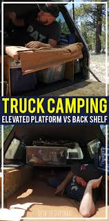 living in a truck or turn a canopy into an rv popular
