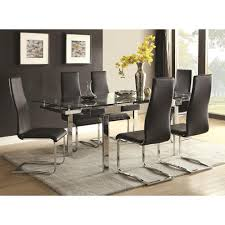 modern dining room set contemporary dining room set with glass table modern dining by