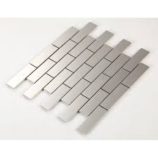 metal wall tiles kitchen backsplash steel tile with base kitchen backsplash subway metal wall tile