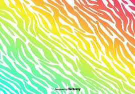 zebra pattern free download vector colorful zebra stripes background download free vector art