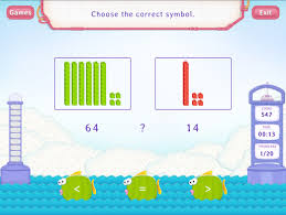 compare numbers worksheet games first grade math