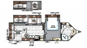 Rockwood Trailers Floor Plans Forest River Rockwood Ultra V 2715vs Travel Trailer Floor Plan