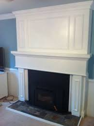Fireplace Cover Up Brick Fireplace Makeover Fireplace Makeover Covered Up Most Of