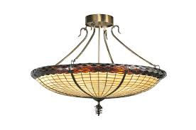 Inverted Bowl Pendant Light by Stained Glass Windows Lighting And Lamps Realgoods Company