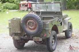ford military jeep willys jeep ford gpw wwii military jeep army unrestored