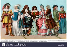 timeline of french fashion clothing from 1618 to 1799 17th u0026 18th