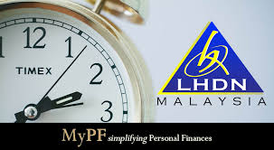 lhdn personal tax due date income tax malaysia 2018 mypf my