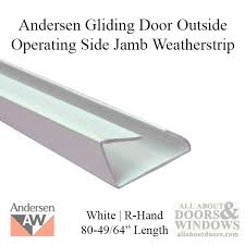 Patio Door Weatherstripping Perma Shield Gliding Door Side Jamb Weatherstrip Outside