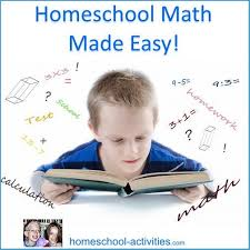 homeschool math with free math worksheets for kids