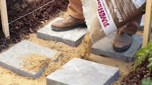 home depot path how to build a paver path in one afternoon the home depot diy