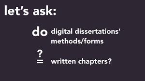 dissertating literaturegeek com digital dissertations in an increasingly