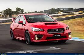 subaru sti 2016 red ausmotive com my15 subaru wrx sti u2013 australian pricing u0026 specs