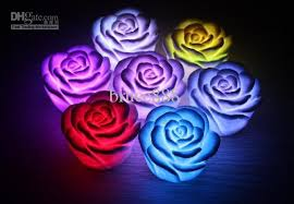pictures of night lights 2018 selling led colorful night light romantic colorful rose