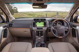 Toyota Land Cruiser Interior 2018 Toyota Landcruiser Prado Revealed