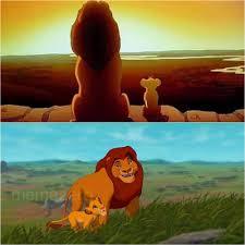 cartoon plain meme of lion king screenshots meme photo comments