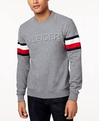hilfiger sweater mens hilfiger s everest logo sweatshirt hoodies