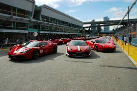 Ferrari 458 Drifting - racing hearts for charity