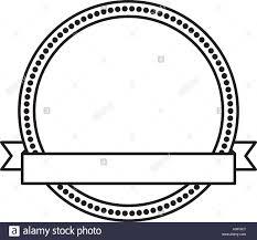 Seal Ribbon Circle Seal Stamp With Ribbon Frame Stock Vector Art