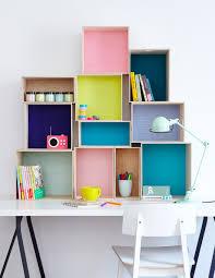 bureau coloré put the paintbrush 10 ways to add color without painting box