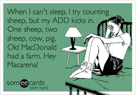 Insomniac Meme - when i can t sleep i try counting sheep but my add kicks in one