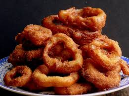 red onion rings images Buttermilk pancake batter onion rings with wasabi garlic mayo video jpg