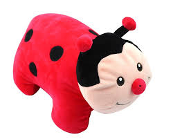 necknapperz dotty the ladybug plush toy amazon co uk toys u0026 games